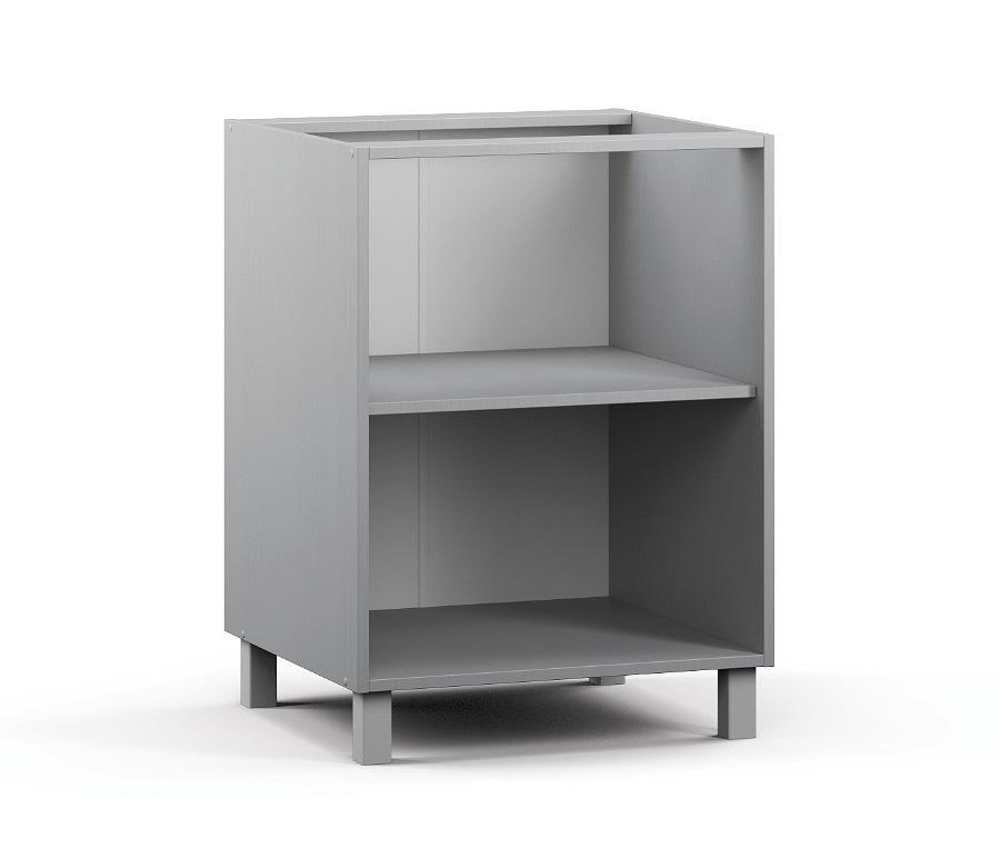 Анна АС-60 Шкаф-СтолМебель для кухни<br><br><br>Длина мм: 600<br>Высота мм: 820<br>Глубина мм: 563