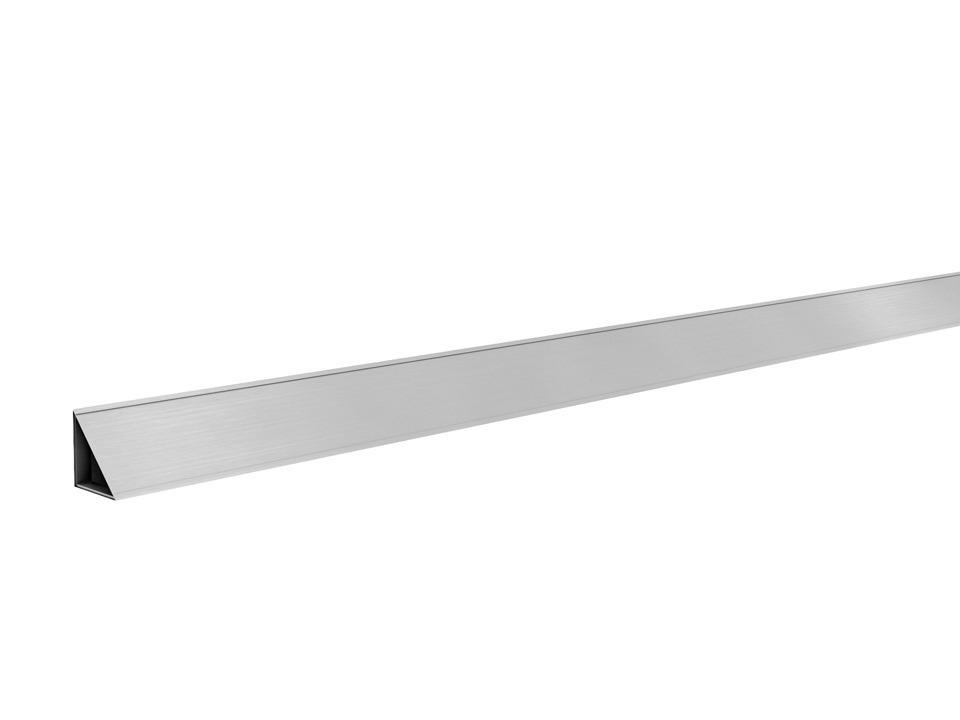 Бордюрный профильМебель для кухни<br><br><br>Длина мм: 3050<br>Высота мм: 25<br>Глубина мм: 25
