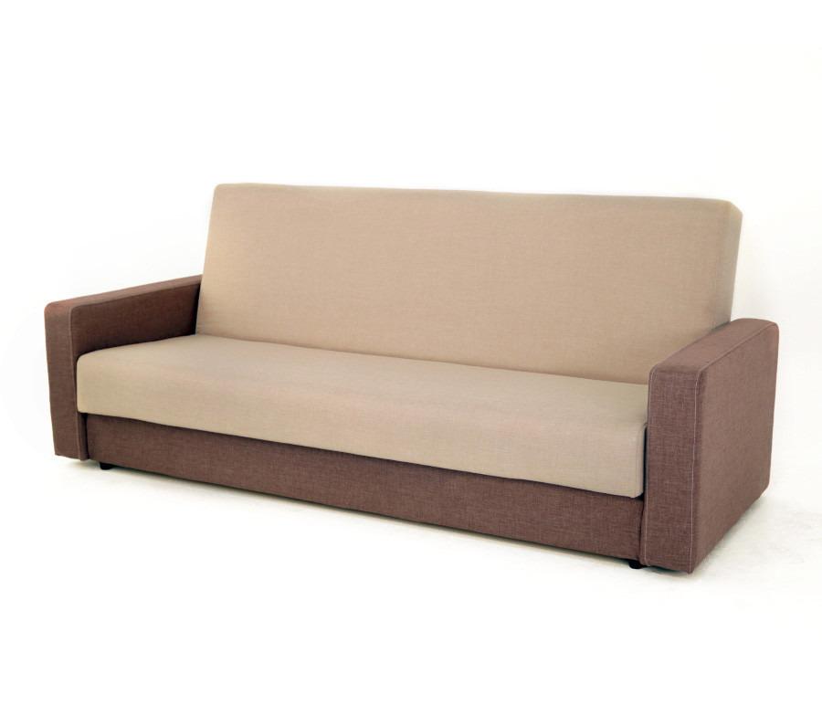 Диван Квант 120 (подушки в комплект не входят)Диваны и кресла<br><br><br>Длина мм: 2150<br>Высота мм: 900<br>Глубина мм: 950<br>Цвет: Темно-коричневый/ Бежевый