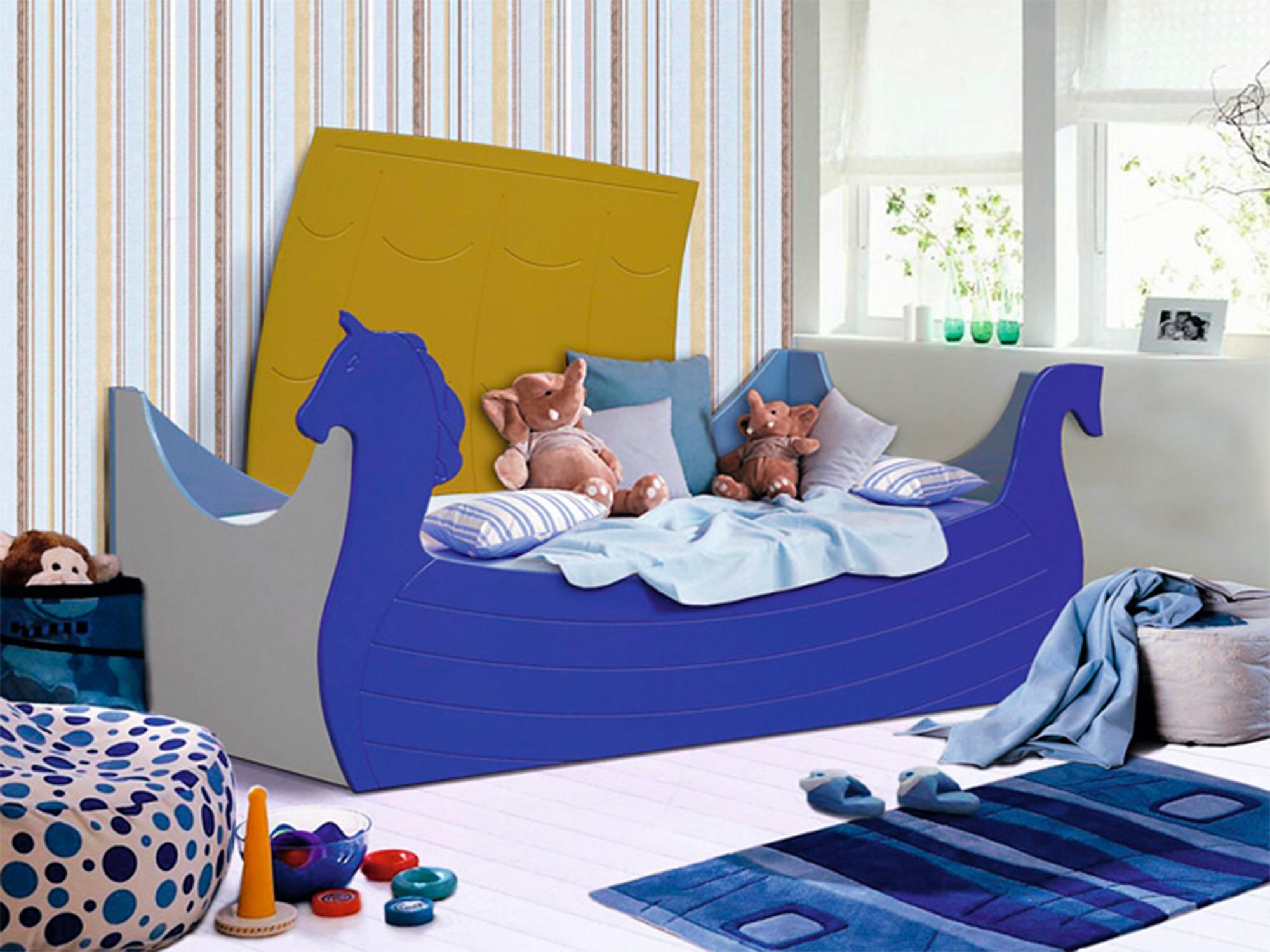 Кровать ЛадьяДетские кровати<br><br><br>Длина мм: 1990<br>Высота мм: 890<br>Глубина мм: 840