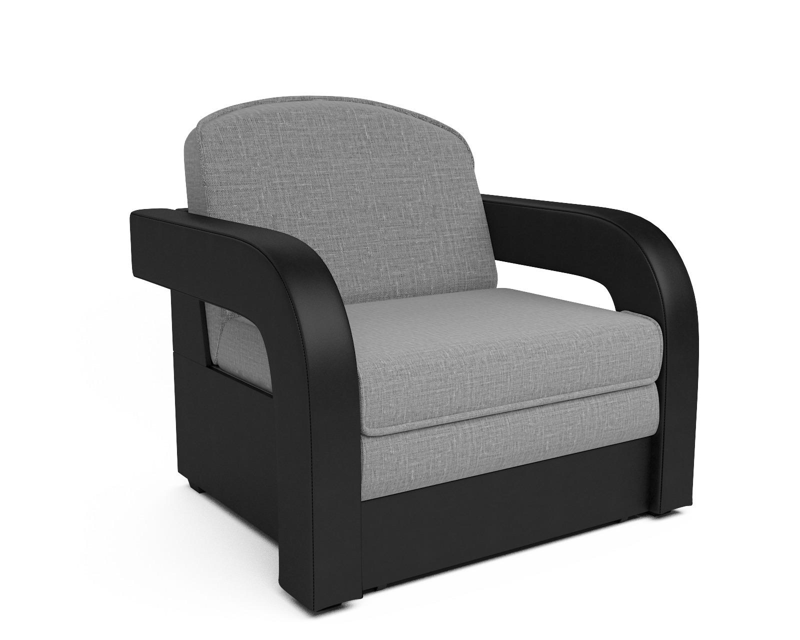 Кресло-кровать Карина-2 (рогожка серая) фото