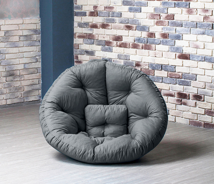 Кресло Оустер , Бостон, XL (215 см)Бескаркасная мебель<br><br><br>Длина мм: 115<br>Высота мм: 85<br>Глубина мм: 105