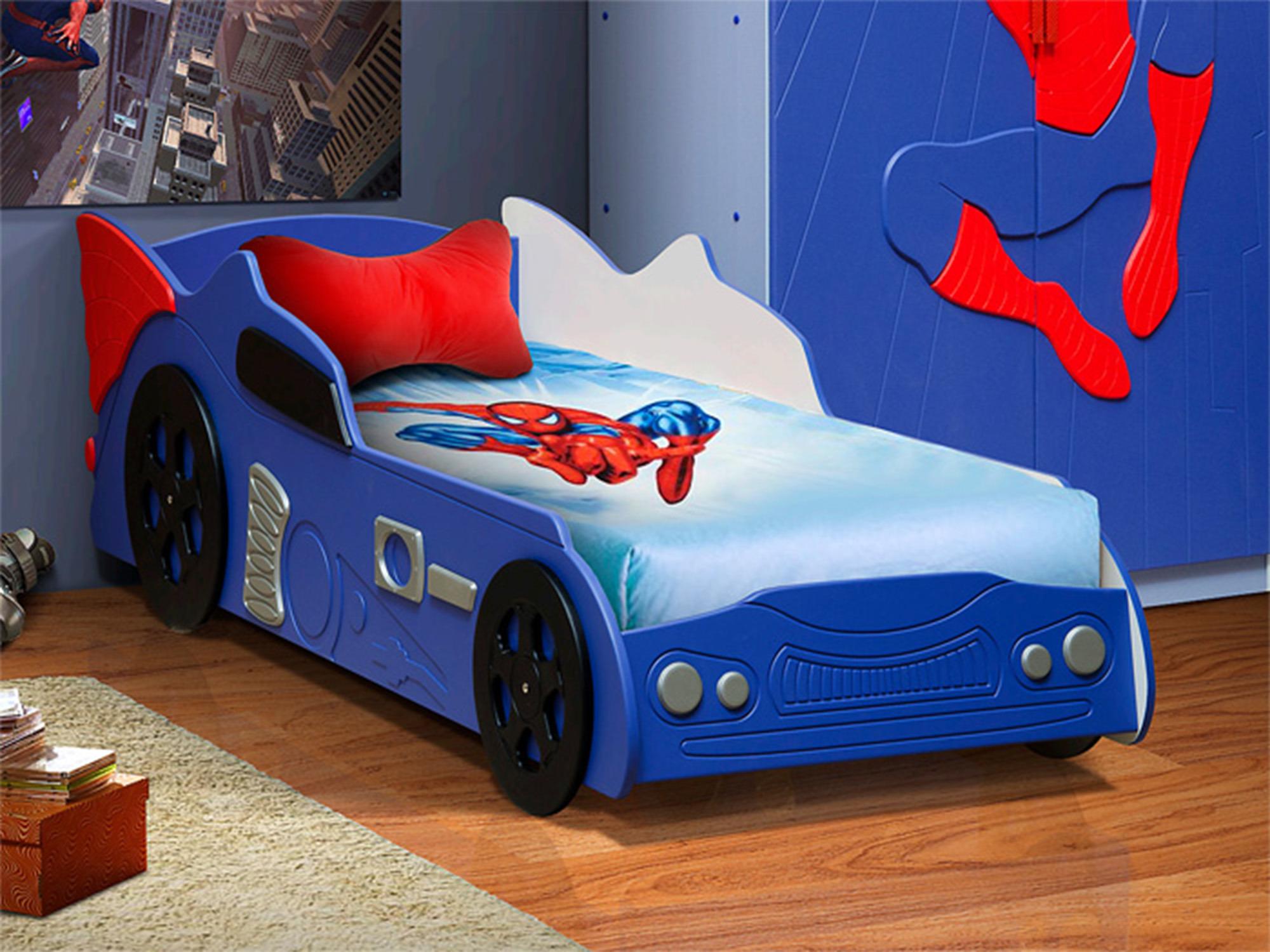 Кровать ПаукДетские кровати<br><br><br>Длина мм: 880<br>Высота мм: 600<br>Глубина мм: 2100