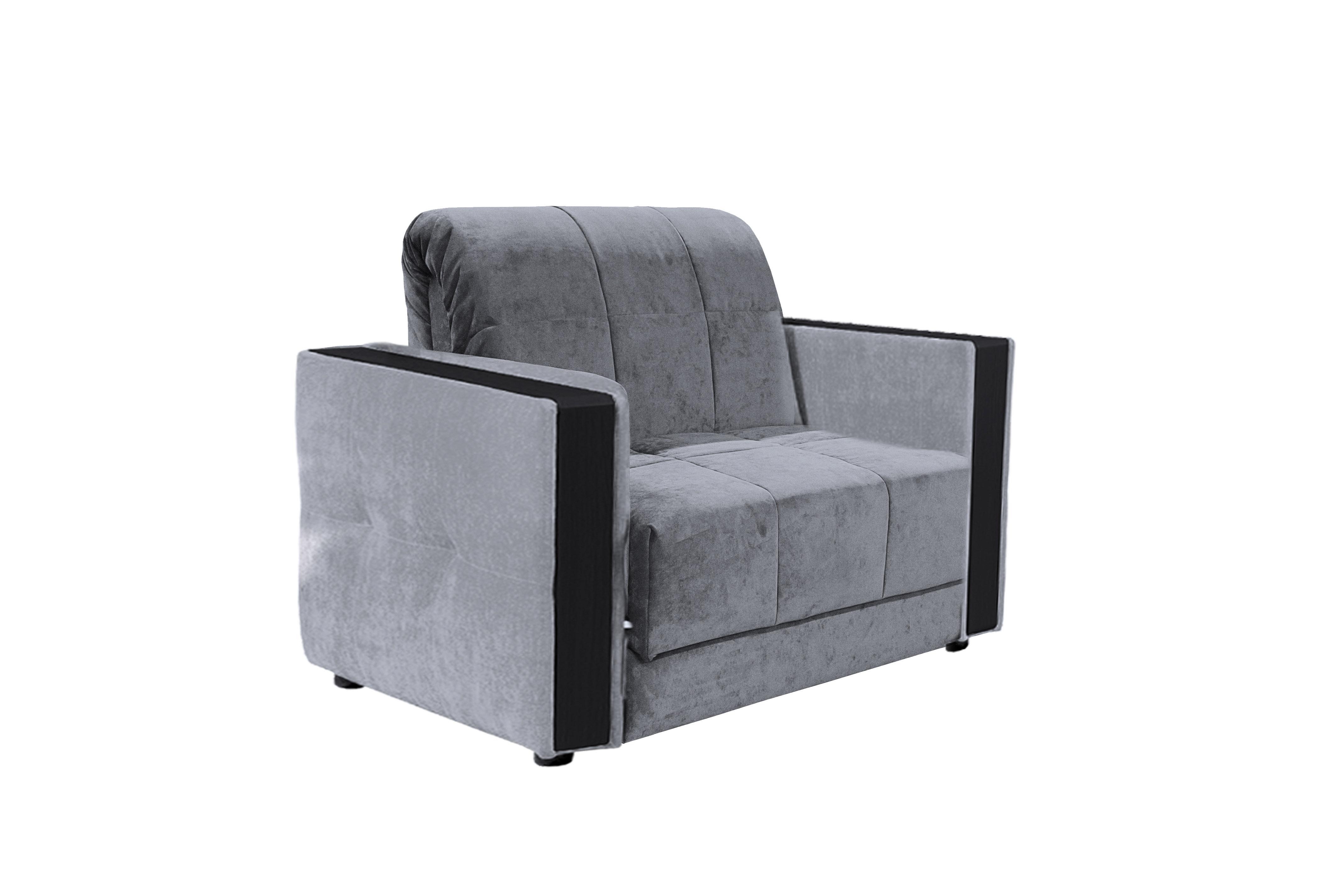 Кресло-кровать Лира Классик 80 НПБ, велюр