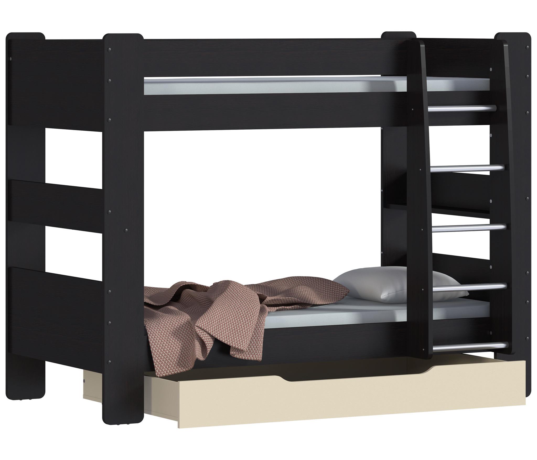 Дакота СБ-2272 Кровать 2-х ярусная с ящикомДетские кровати от 3-х лет<br><br><br>Длина мм: 0<br>Высота мм: 0<br>Глубина мм: 0