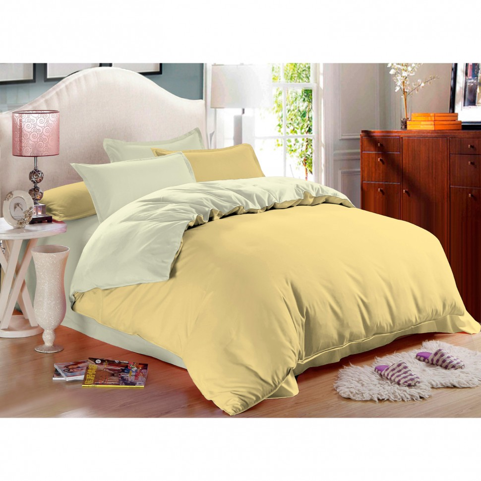 Комплект постельного белья евро Amore Mio Vanilla сатин комплект постельного белья двуспальный евро amore mio arthur кофейный