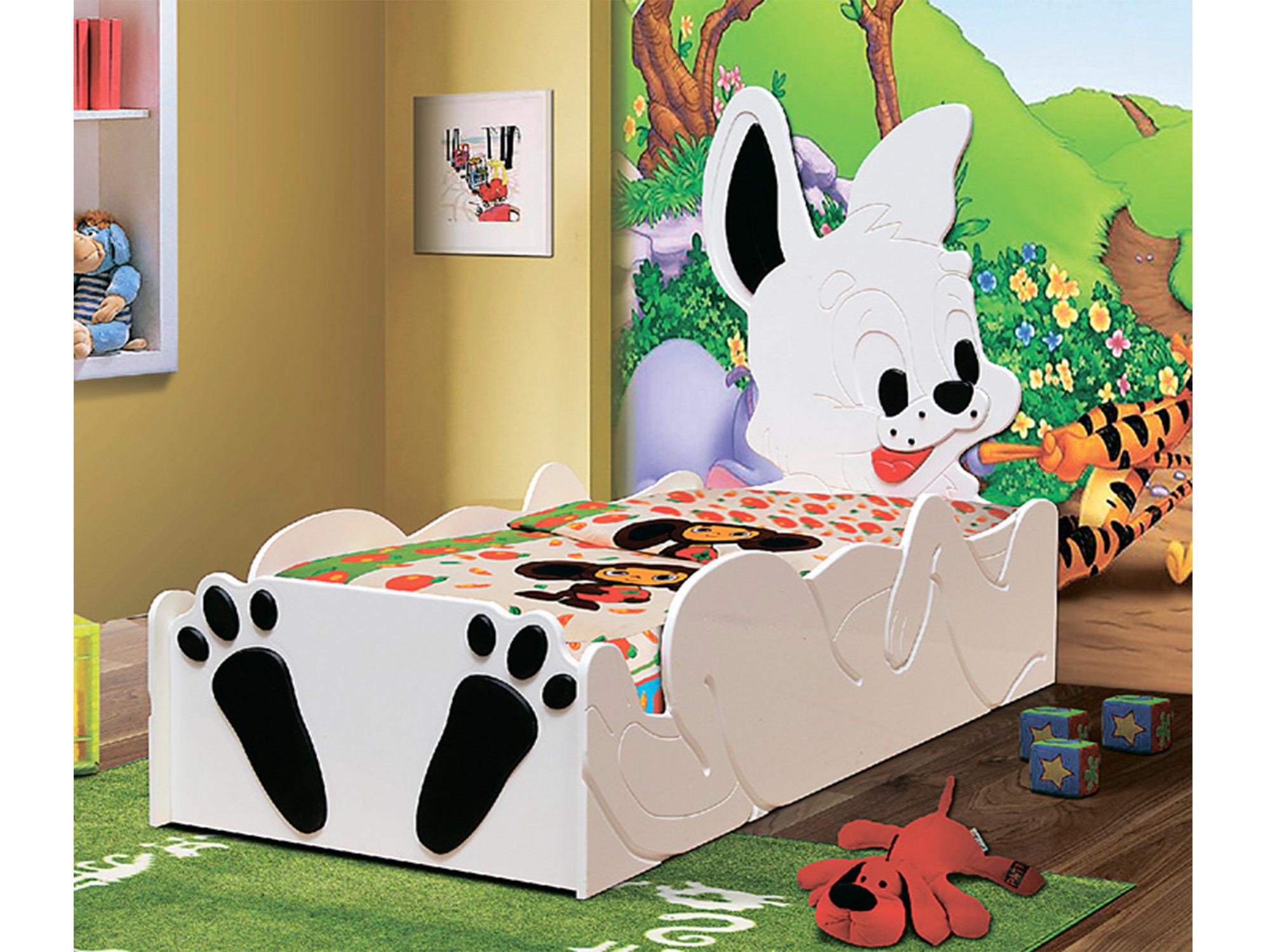 Кровать ЗайчонокДетские кровати<br><br><br>Длина мм: 810<br>Высота мм: 1270<br>Глубина мм: 1750