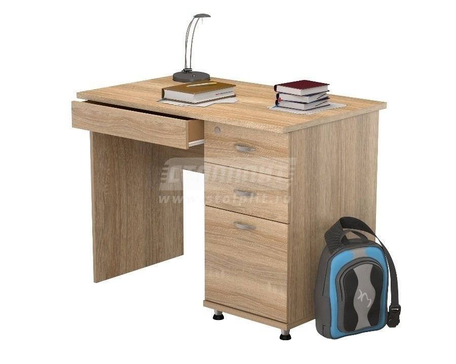 Стол письменный ПС 4003Письменные столы<br><br><br>Длина мм: 1000<br>Высота мм: 770<br>Глубина мм: 600<br>Цвет: Дуб Сонома