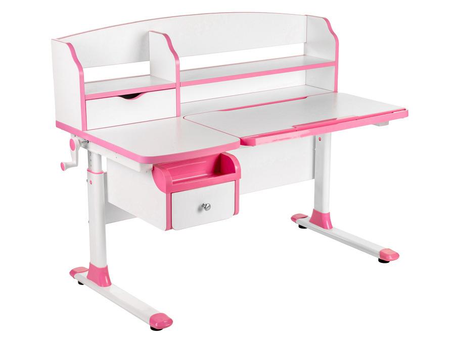 Парта-трансформер с надстройкой и выдвижным ящичком SognareДетские парты, столы и стулья<br><br><br>Длина мм: 610<br>Высота мм: 720<br>Глубина мм: 250