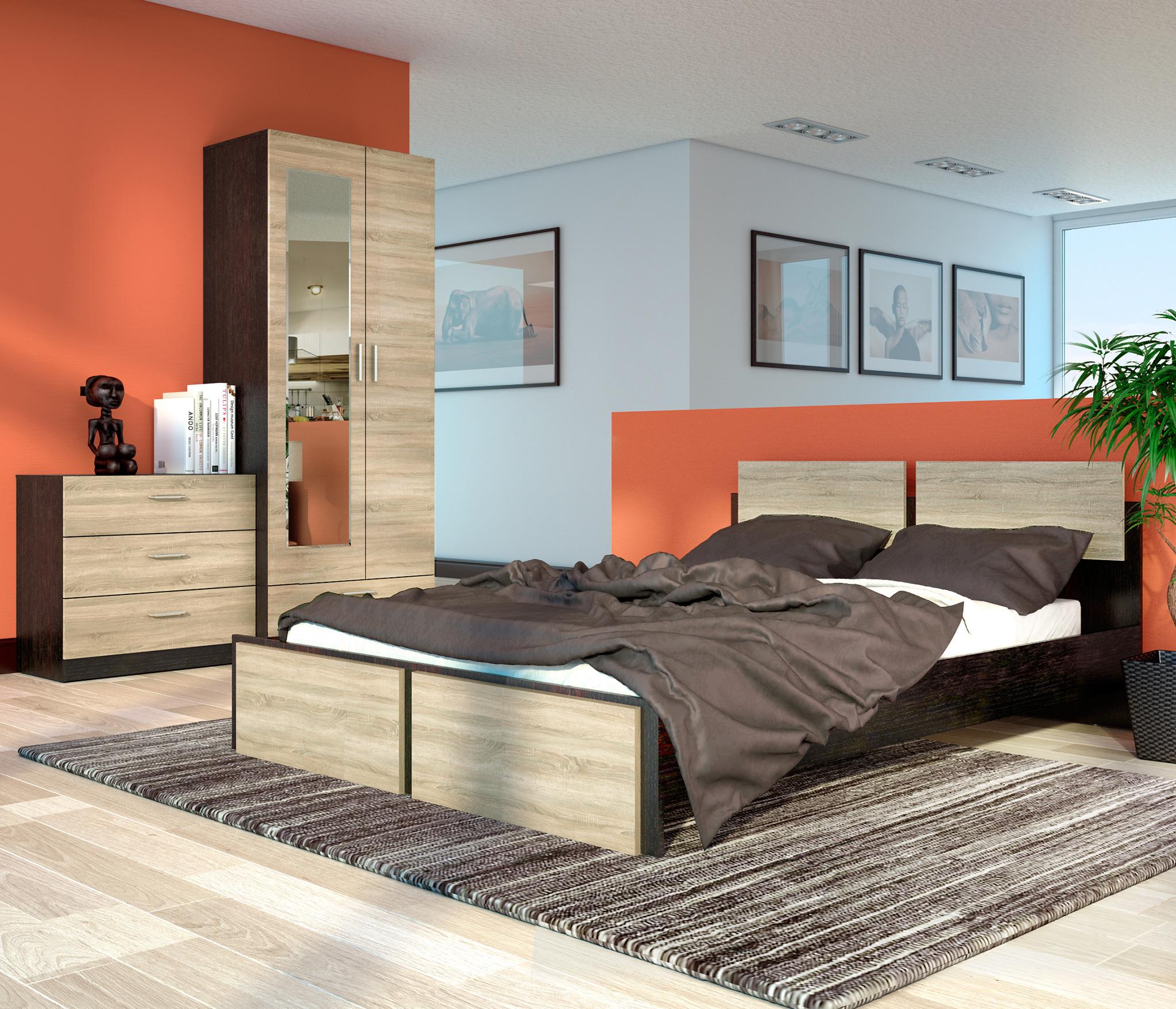 Спальня Флёр 1 Столплит