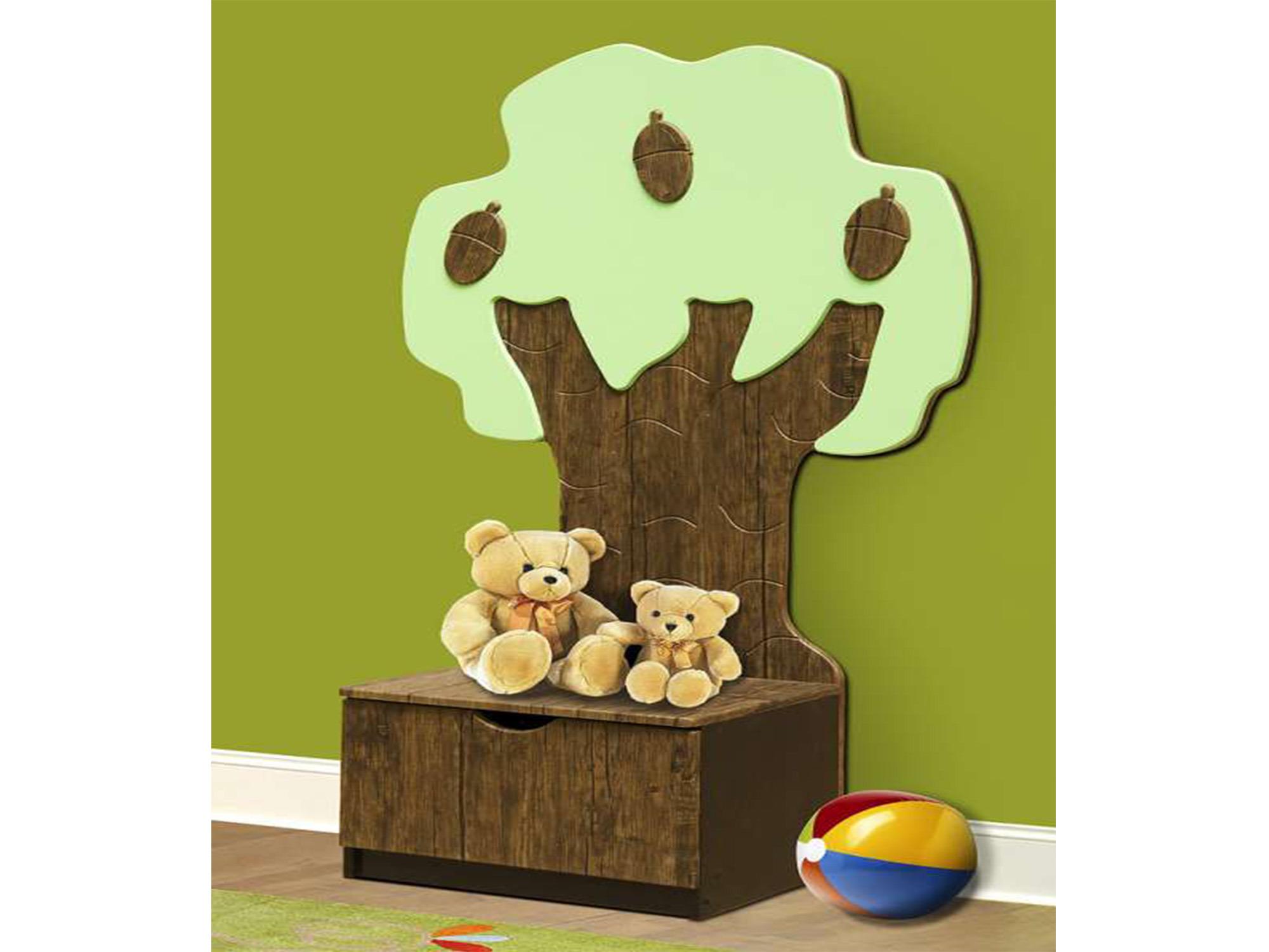 Ящик под игрушки МедвежонокДетские тумбы<br><br><br>Длина мм: 600<br>Высота мм: 0<br>Глубина мм: 430