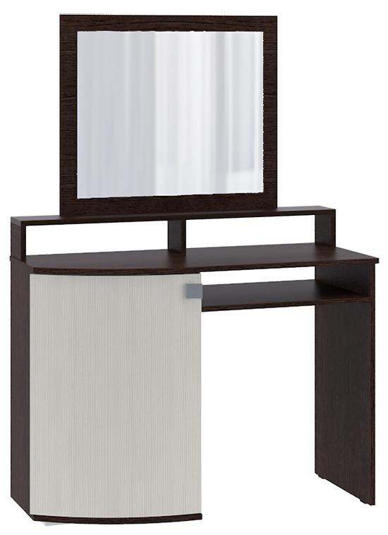 Столик туалетный СТ-3Туалетные столики<br><br><br>Длина мм: 1000<br>Высота мм: 1450<br>Глубина мм: 400