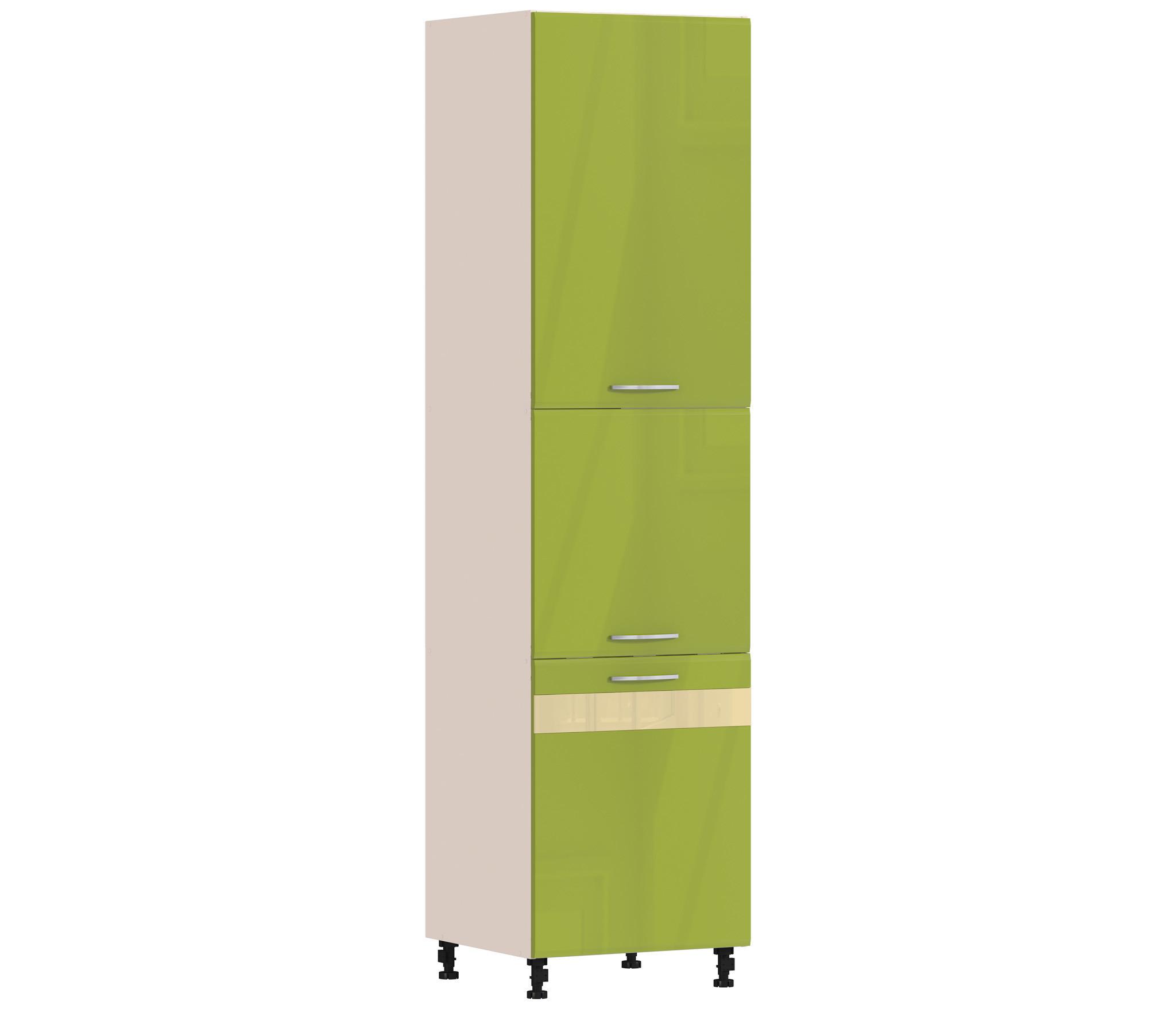 Регина РП-360 пеналГарнитуры<br>Пенал Регина РП-360, имея изящный дизайн и занимая минимум места на кухне, сможет вместить в себя большое количество предметов посуды и кухонной утвари.<br><br>Длина мм: 600<br>Высота мм: 2370<br>Глубина мм: 563