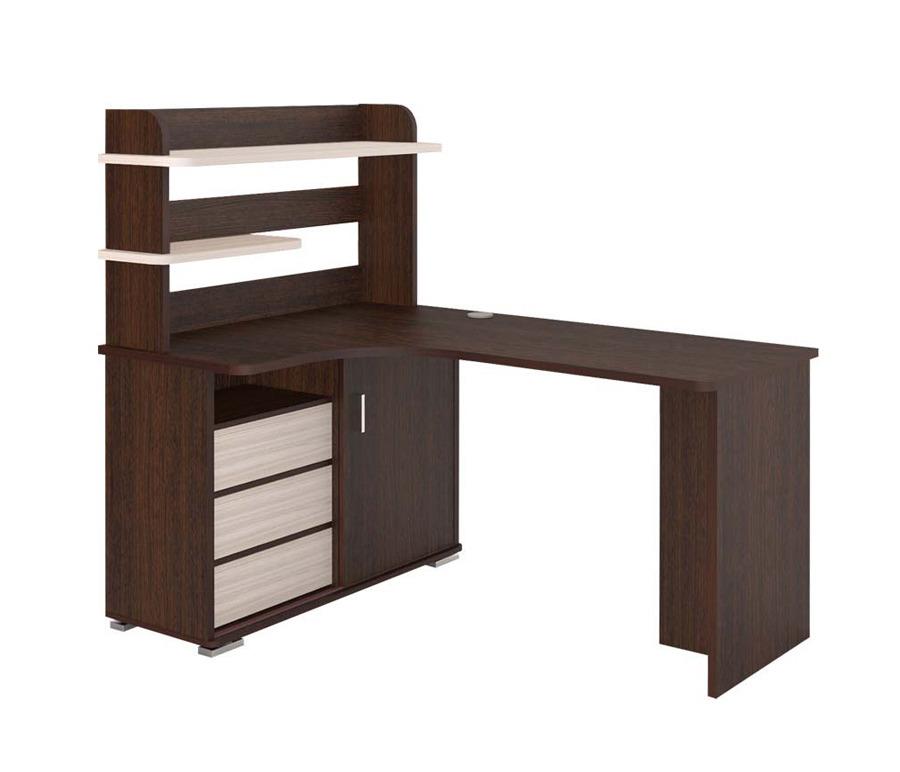 Стол компьютерный с надстройкой СР-145Компьютерные столы<br><br><br>Длина мм: 1400<br>Высота мм: 1385<br>Глубина мм: 1160