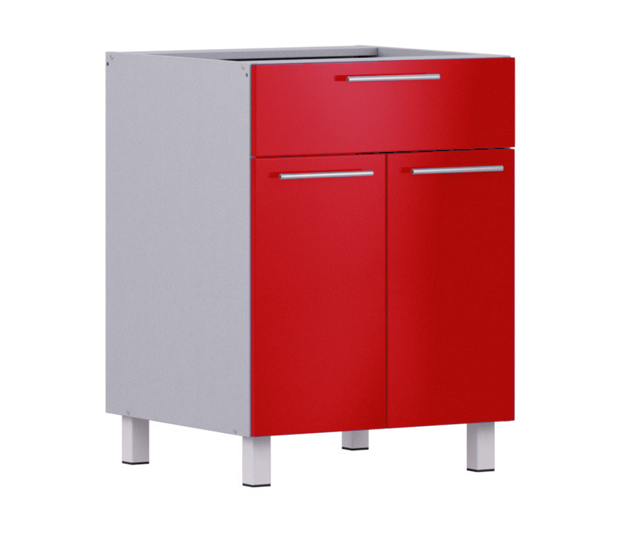 Анна АСДЯ-60 стол с ящиком и дверкамиМебель для кухни<br>Дополнительно рекомендуем приобрести столешницу.<br><br>Длина мм: 600<br>Высота мм: 820<br>Глубина мм: 563