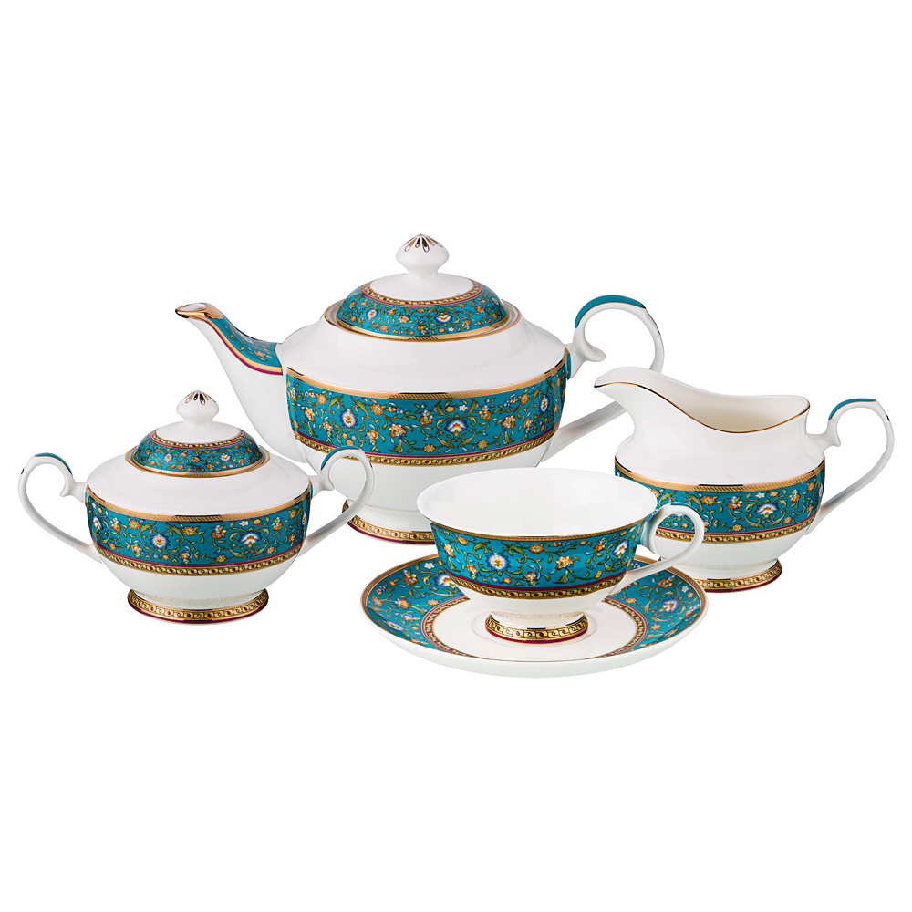 Чайный сервиз на 6 персон 15 предметов недорого