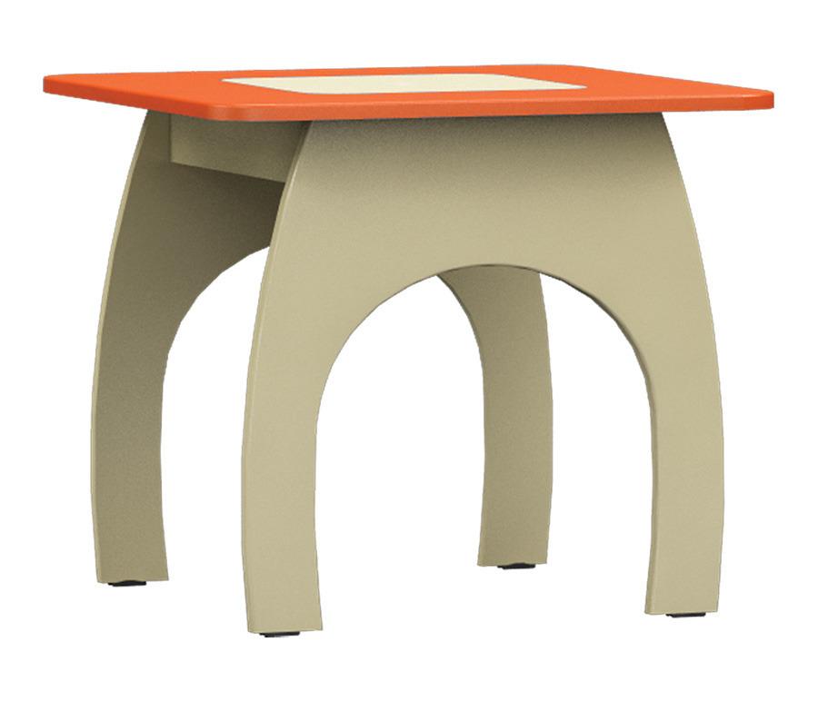 Денди СБ-1425 СтолДетские парты, столы и стулья<br>Функциональный и оригинальный столик в детскую комнату.<br><br>Длина мм: 580<br>Высота мм: 510<br>Глубина мм: 580