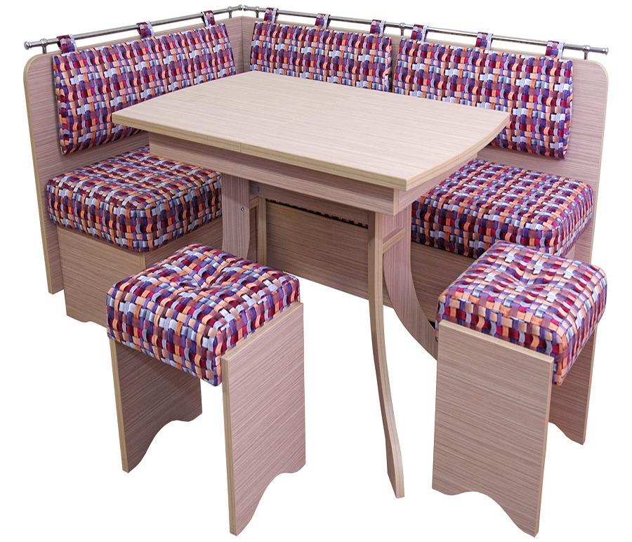 Обеденная группа - диван Стокгольм дст02-л, стол Корсика-б скб01, табурет Форвард  тф03 (2 шт)Обеденные группы<br><br><br>Длина мм: 180<br>Высота мм: 85<br>Глубина мм: 120