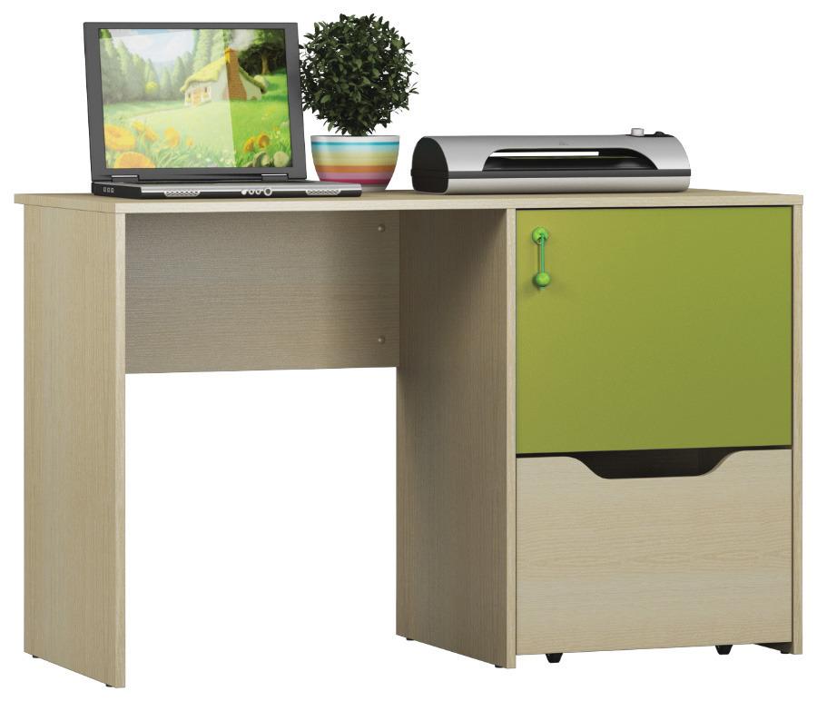 Маугли СБ-2071 СтолДетские парты, столы и стулья<br>Маугли СБ-2071   стол, который понравится вашему ребенку. Удобный, функциональный и, конечно, красивый. Светлая пастель Дуба Молочного с сильно выраженной древесной структурой прекрасно гармонирует с нетривиальной Фуксией. Это взрослым в обстановке чаще всего нравятся приглушенные краски, для ребенка яркий цвет – это радость и настроение.&#13;Вместительная тумба с нижним выдвижным ящиком и верхней секцией с дверкой спрячет от посторонних и сохранит все тетрадки, альбомы, карандаши и краски, которыми так дорожит юное дарование. Просторной столешницы с избытком хватит, как для размещения планшета или ноутбука, так и для комфортного выполнения уроков.<br><br>Длина мм: 1200<br>Высота мм: 763<br>Глубина мм: 554<br>Форма: Прямой