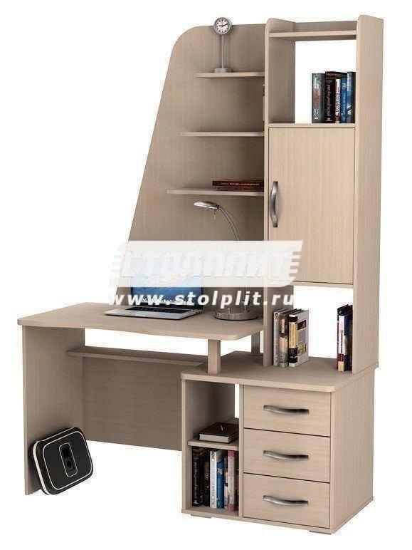Стол компьютерный КС 2043Кабинет<br><br><br>Длина мм: 1400<br>Высота мм: 2000<br>Глубина мм: 600