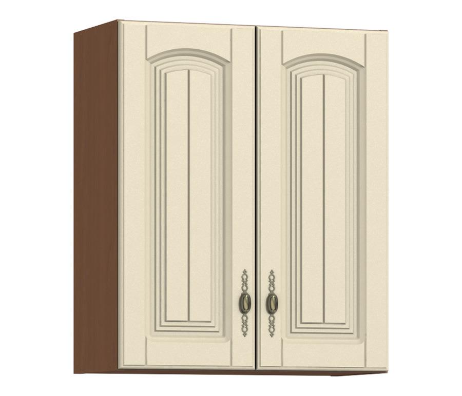 Регина РП-60 полка с 2-мя фасадамиГарнитуры<br>Широкая полка, закрытая двумя дверцами. Внутри вы найдете два больших отделения для хранения посуды или продуктов.<br><br>Длина мм: 600<br>Высота мм: 720<br>Глубина мм: 289