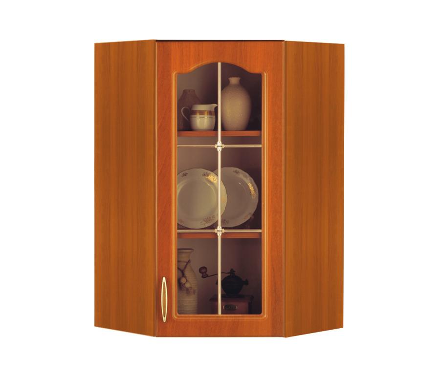 Оля М5В ВитринаВитрины<br>Аккуратный угловой шкаф для эргономичной кухни.<br><br>Длина мм: 584<br>Высота мм: 920<br>Глубина мм: 584