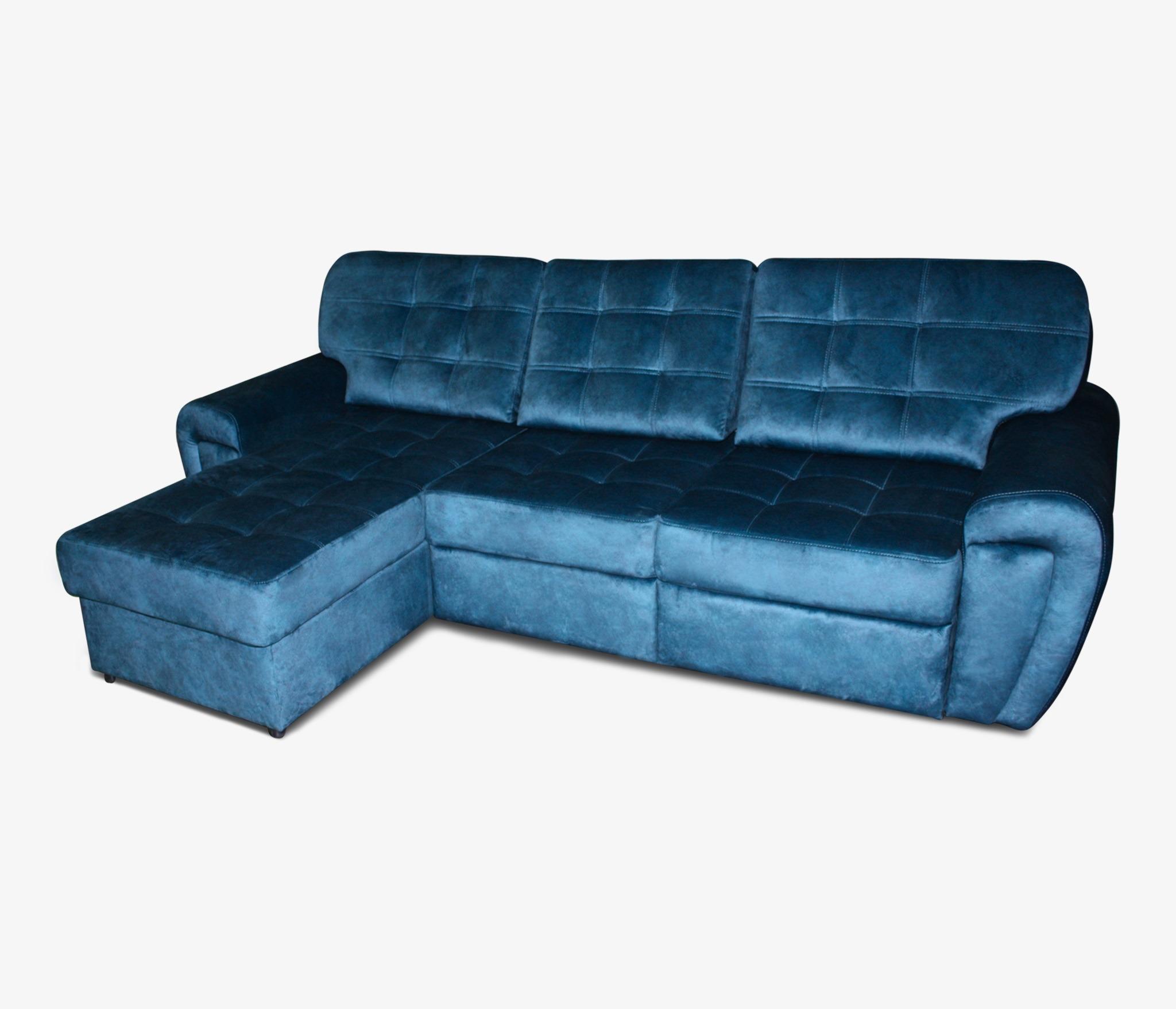 Прямой диван Хорс с оттоманкой слева Столплит R0000254393
