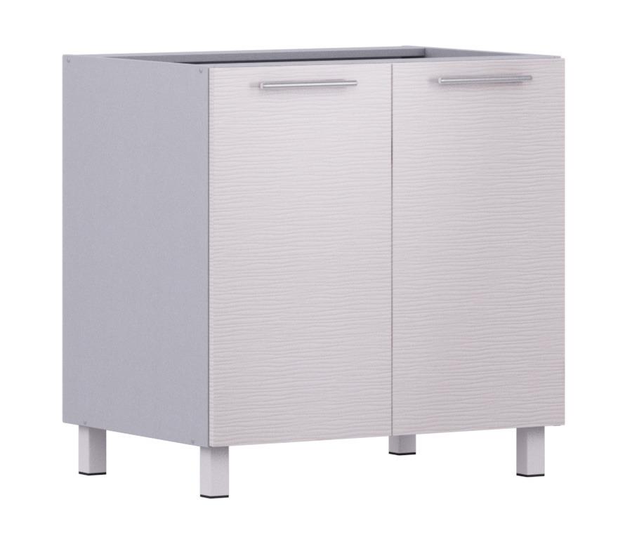 Анна АС-80 стол с 2-мя фасадамиМебель для кухни<br><br><br>Длина мм: 800<br>Высота мм: 820<br>Глубина мм: 563