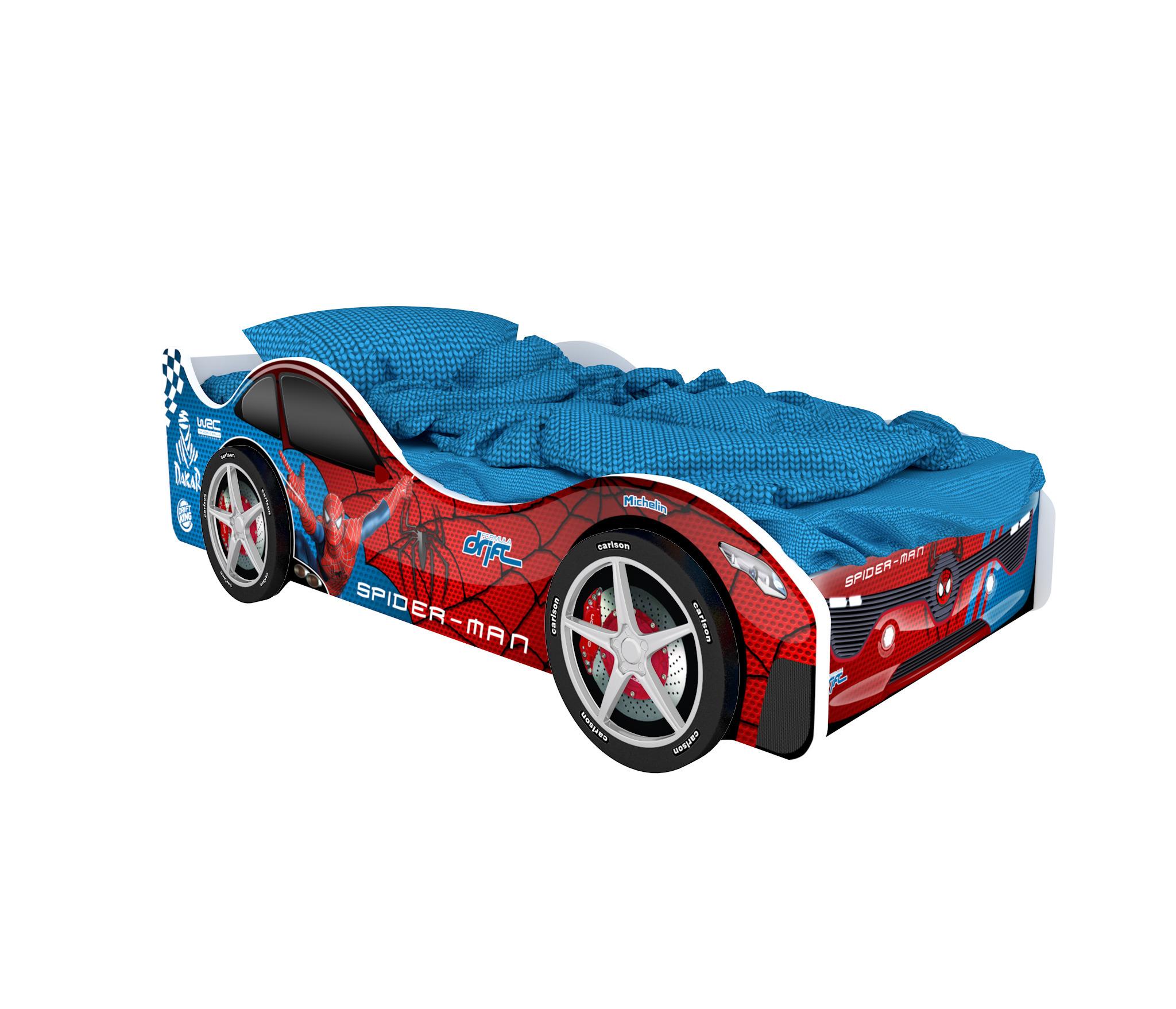 Кровать машина БостонКровати - машины<br><br><br>Длина мм: 1700<br>Высота мм: 500<br>Глубина мм: 750