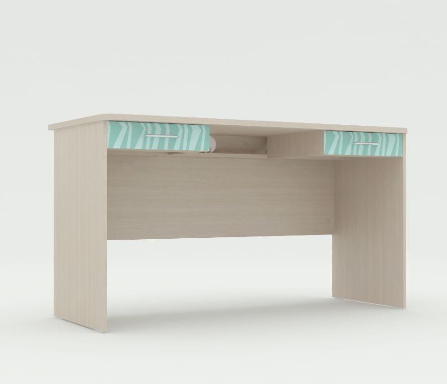 Стол письменный Юна 407Письменные столы<br><br><br>Длина мм: 1410<br>Высота мм: 780<br>Глубина мм: 420