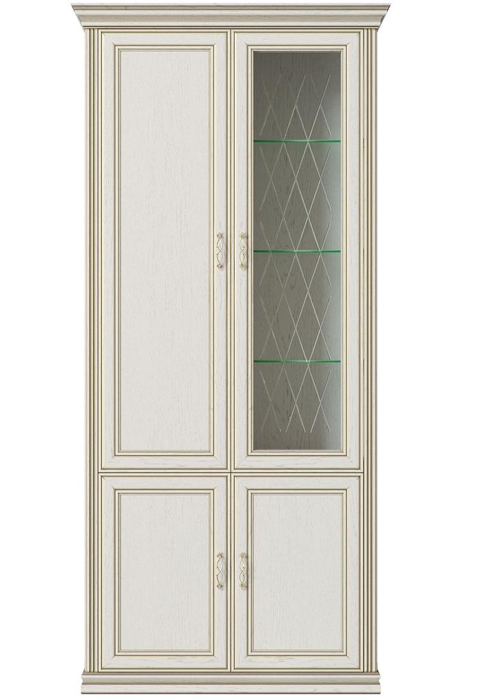 ВЕНЕТО гостиная Шкаф 4-х дверный(1 стеклодверь) фото