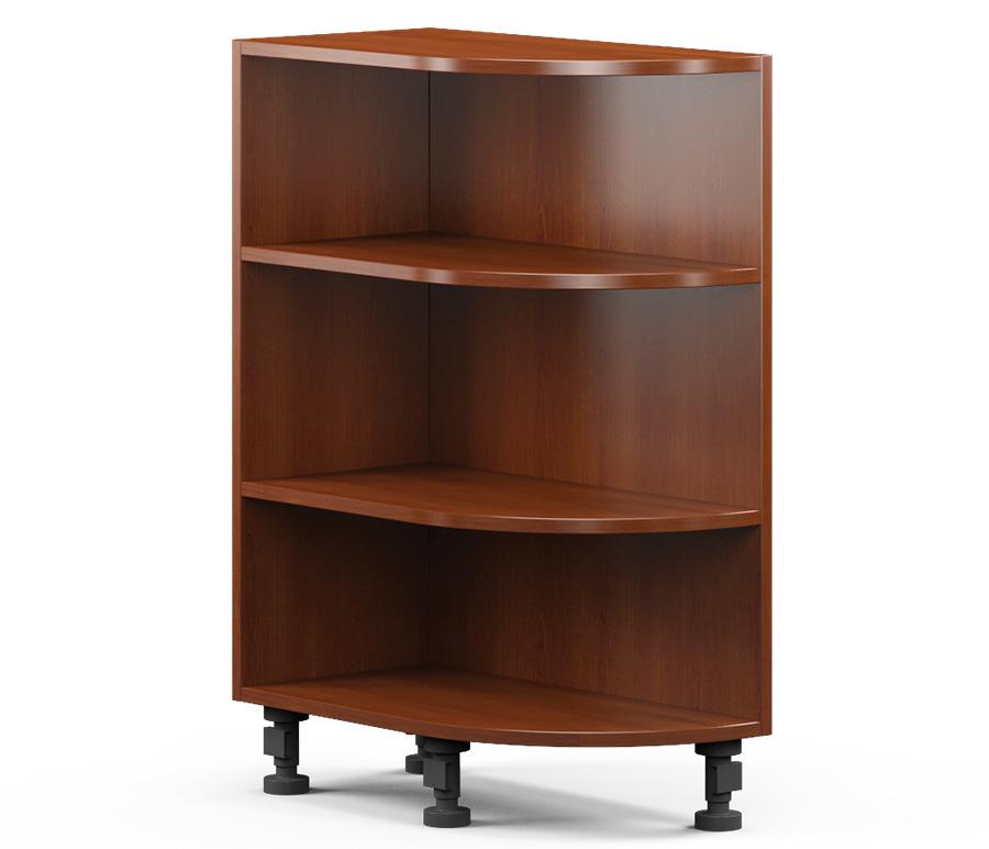 Регина РСТ-30 Шкаф-Стол торцевой (левый/правый)Мебель для кухни<br>Угловой шкаф для кухни с тремя полками.<br><br>Длина мм: 286<br>Высота мм: 820<br>Глубина мм: 560