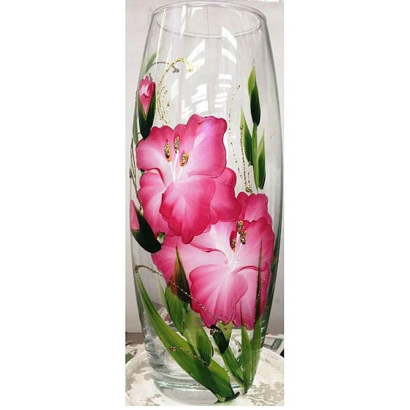 Фото - Ваза для цветов декорированная 25 см ваза для цветов декорированная 25 см 7736 250 77 302