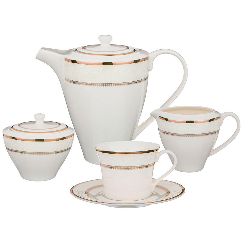 Сервиз чайный 6/15пр сервиз чайный из фарфора 12 предметов лаура 84 670