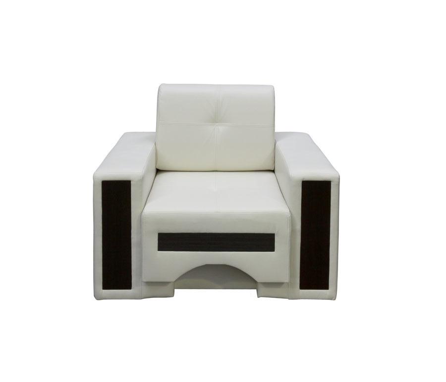 Кресло БарселонаДиваны и кресла<br>Наполнение: Пружинный блок/Фанера/ДСП/ППУ;&#13;Съемный чехол на подушке;&#13;Ткань - Иск. кожа Sancho 2203;&#13;Цвет Sancho 2203&#13;]]&gt;<br><br>Длина мм: 1000<br>Высота мм: 750<br>Глубина мм: 900
