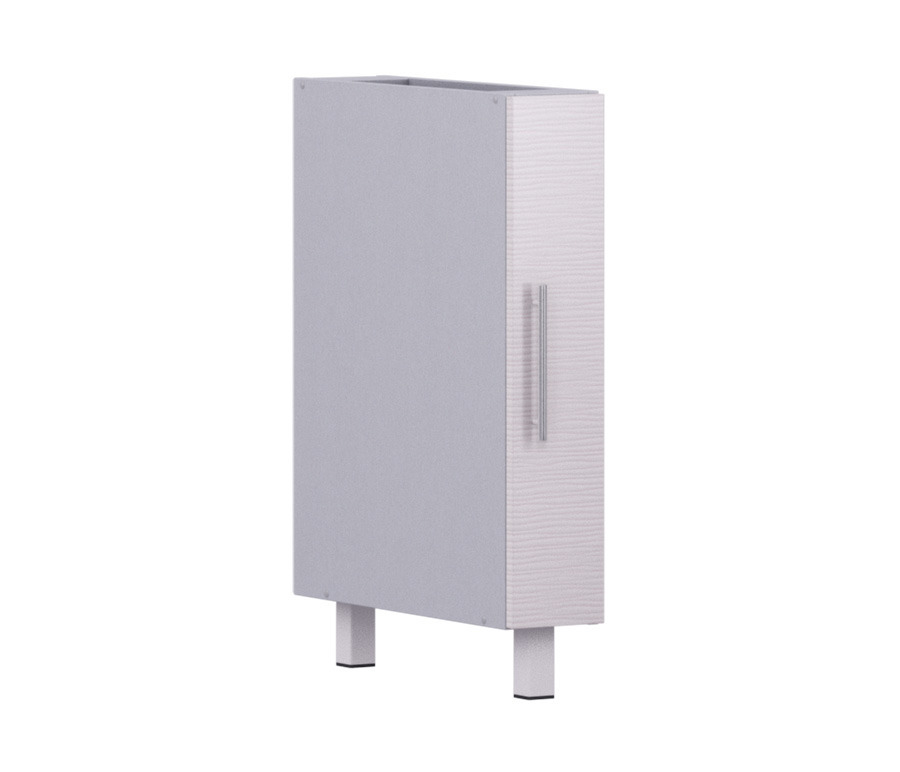 Анна АС-15 столМебель для кухни<br>Узкая секция в современном стиле хорошо дополнит вашу кухонную систему. Дополнительно рекомендуем приобрести столешницу.<br><br>Длина мм: 150<br>Высота мм: 820<br>Глубина мм: 563