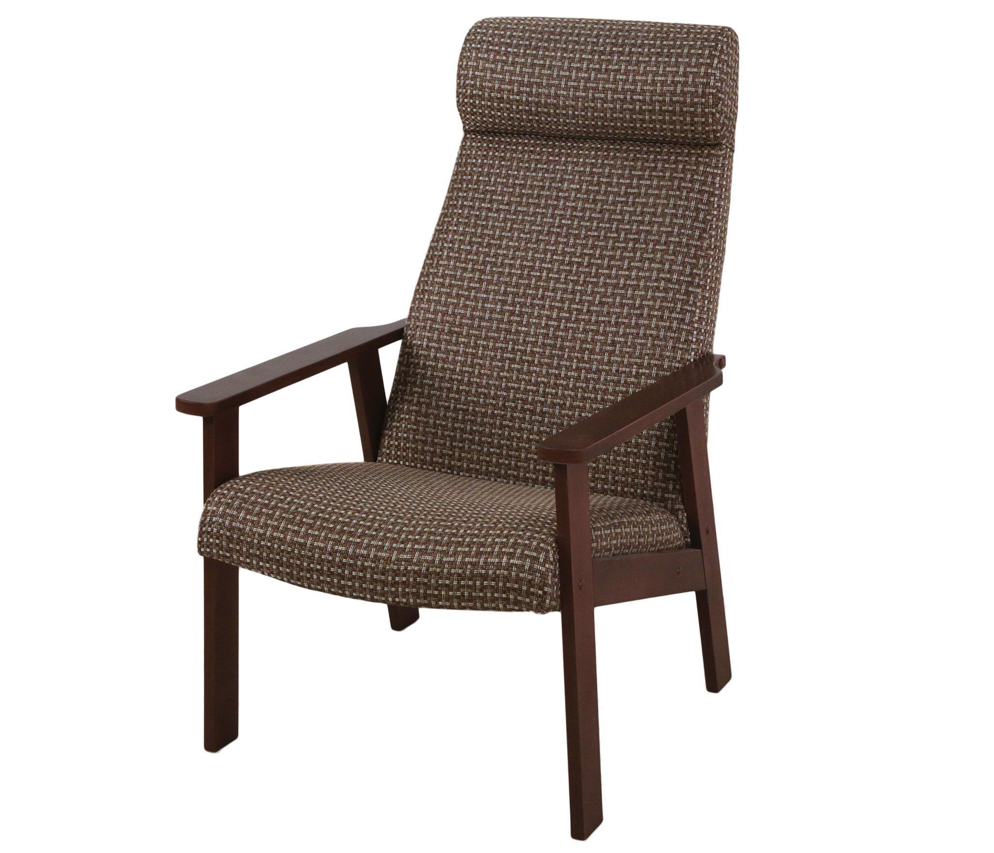 Кресло для отдыха Вилора, Орех, рогожка 051-4 мягкие кресла