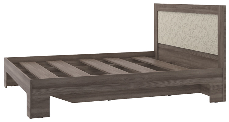 Кровать КР-14Мебель для спальни<br><br><br>Длина мм: 2030<br>Высота мм: 1000<br>Глубина мм: 1640