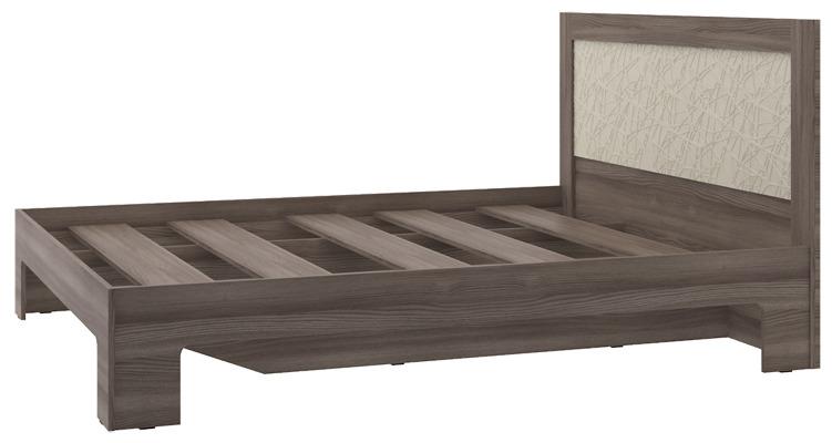 Кровать КР-14Спальня<br><br><br>Длина мм: 2030<br>Высота мм: 1000<br>Глубина мм: 1640