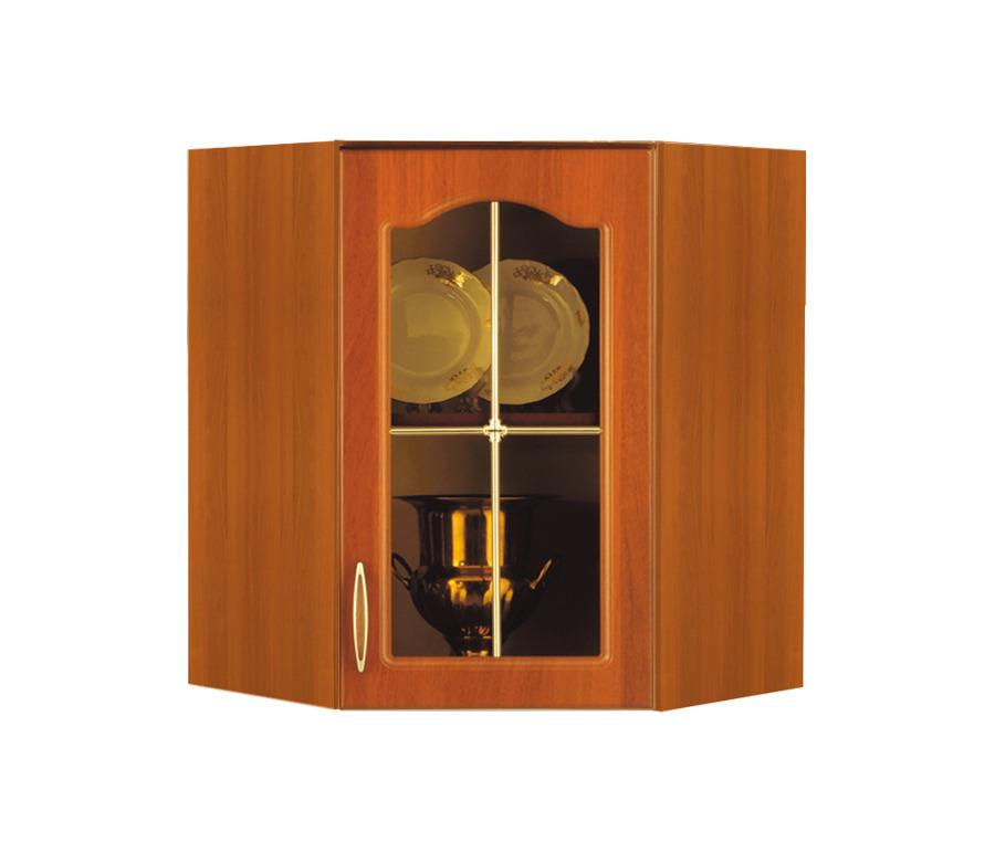 Оля А5В ВитринаВитрины<br>Угловой кухонный шкафчик со стеклянной дверцей.<br><br>Длина мм: 584<br>Высота мм: 720<br>Глубина мм: 584