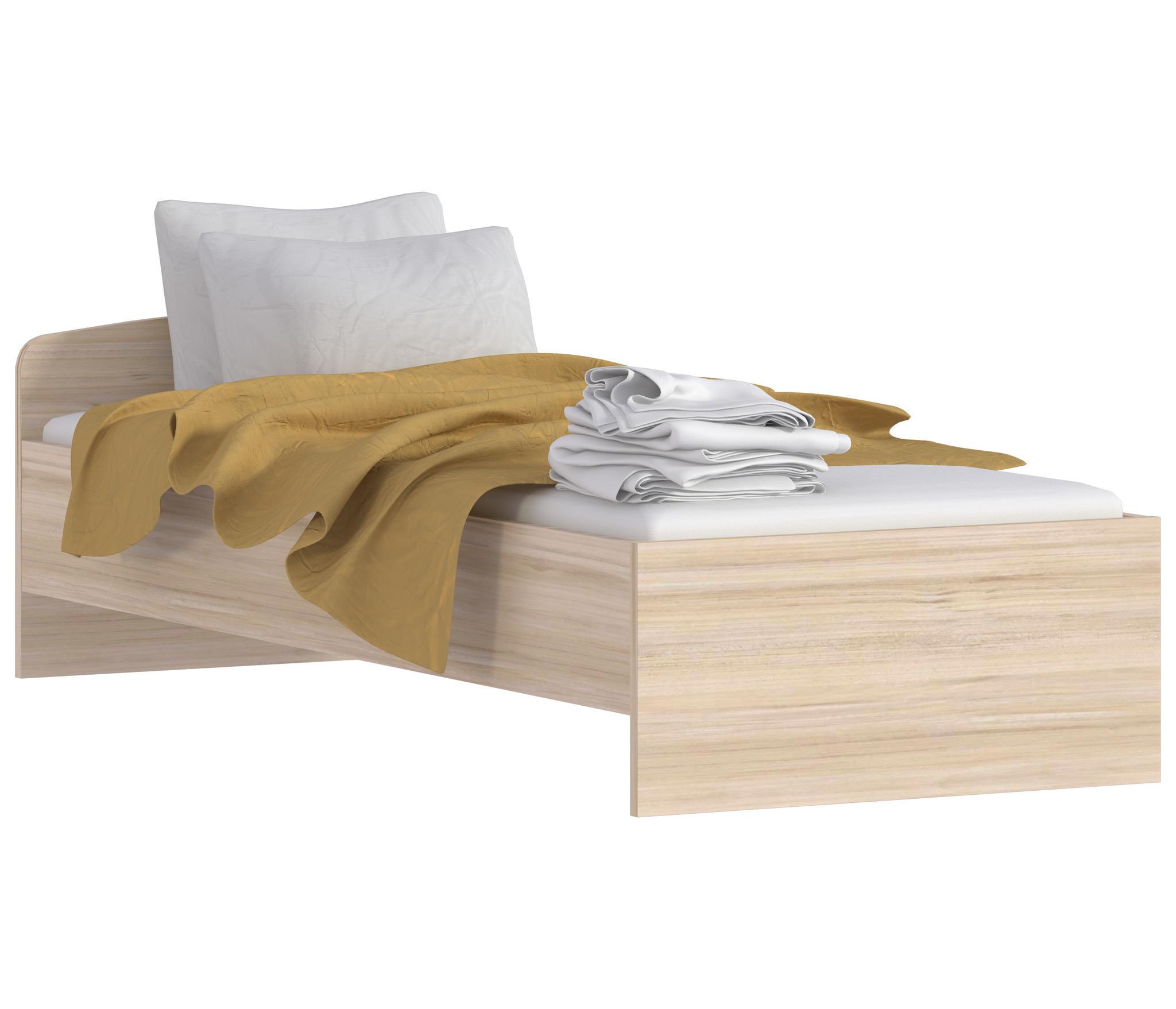 Персей СБ-1994 КроватьДетские кровати от 3-х лет<br>Персей СБ-1994 Кровать – отличный пример мебели для создания сдержанной подростковой комнаты. Четкие линии, лаконичный силуэт, изысканный древесный оттенок – все это превращает кровать в универсальный предмет мебели для любого интерьера. Прочность конструкции обеспечивается не только высоким качеством материалов, но также надежным основанием, которое добавляет дизайну пикантности. Лаконичная и простая по дизайну мебель позволяет легко апеллировать аксессуарами, текстилем и оставляет простор для творчества и воображения.  Дополнительно рекомендуем приобрети ортопедическое основание на ножках 800*2000 или массив СВ-800, а также ортопедический матрас для комфортного сна. С выбором правильных размеров вам помогут наши операторы.<br><br>Длина мм: 856<br>Высота мм: 650<br>Глубина мм: 2056<br>Материал: ДСП<br>Тип: Универсальные<br>Ширина спального места: 800<br>Длина спального места: 2000<br>Вид: Одноярусная