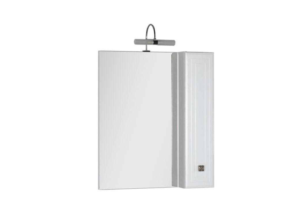 Зеркало Aquanet Стайл 75 белыйЗеркало- шкаф для ванной<br><br><br>Длина мм: 0<br>Высота мм: 0<br>Глубина мм: 0<br>Цвет: Белый Глянец