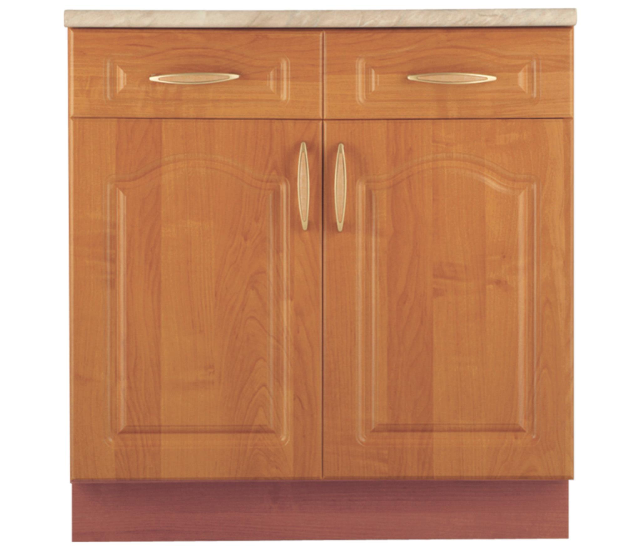 Оля В2/2 Шкаф-Стол с 2-мя ящикамиМебель для кухни<br>Универсальный шкаф для кухни с двумя дверцами. Дополнительно рекомендуем приобрести столешницу.