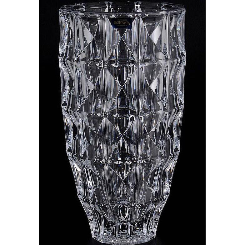 Фото - Ваза для цветов Crystalite Bohemia Diamond 25 см ваза для цветов декорированная 25 см 7736 250 77 302