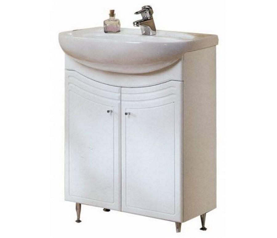 Тумба-умывальник мойдодыр с раковиной Акватон ДОМУС 65 см для ванной комнатыТумбы с раковиной для ванны<br><br><br>Длина мм: 0<br>Высота мм: 0<br>Глубина мм: 0<br>Цвет: Белый