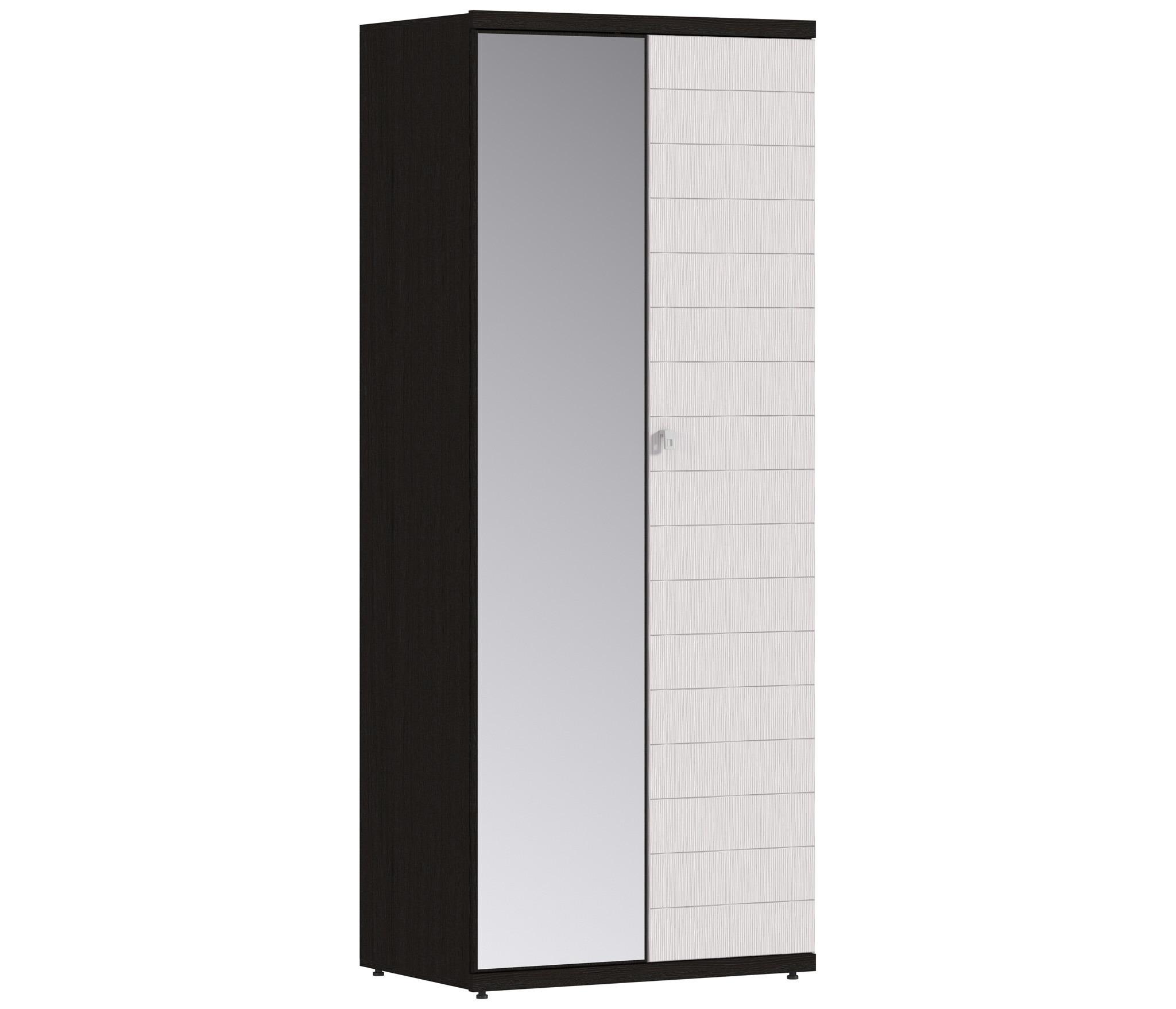 Гретта СБ-636 Шкаф 2-х дверный с зеркаломШкафы<br>Практичный и стильный шкаф с зеркалом.<br><br>Длина мм: 900<br>Высота мм: 2241<br>Глубина мм: 580