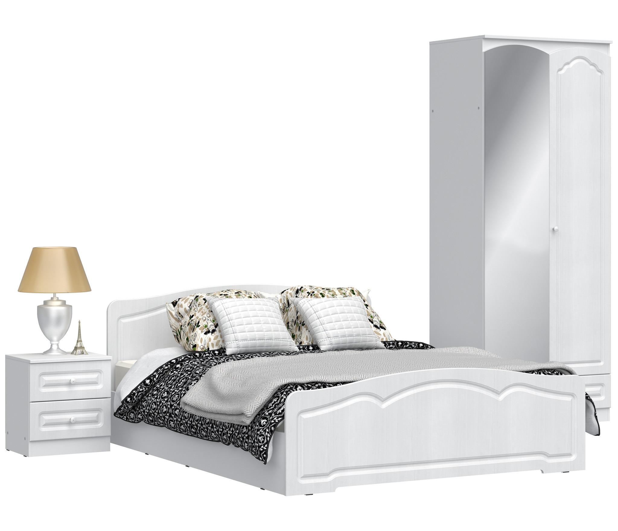 Столплит амалия спальня (шкаф 2-х дверный,кровать,тумба) от .