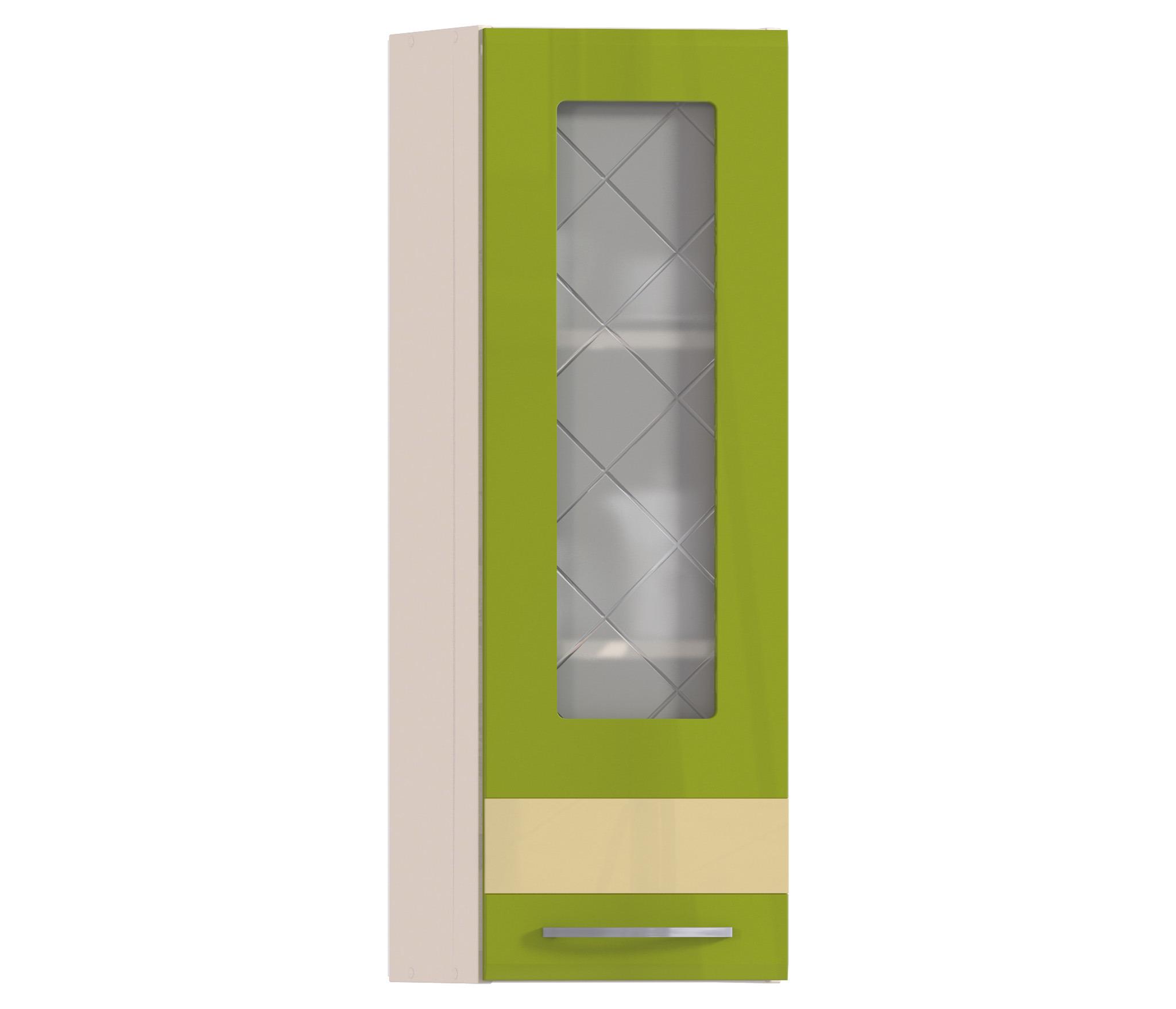 Регина РПТУ-130 полка торцевая с витринойГарнитуры<br>Угловая полка с прозрачной дверцей выполняет функцию витрины и отлично дополняет комплект мебели для кухни в том же стиле.<br><br>Длина мм: 284<br>Высота мм: 926<br>Глубина мм: 283