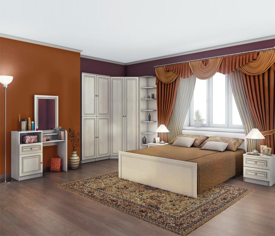 Венеция Дуб Ривер Спальня Набор 1