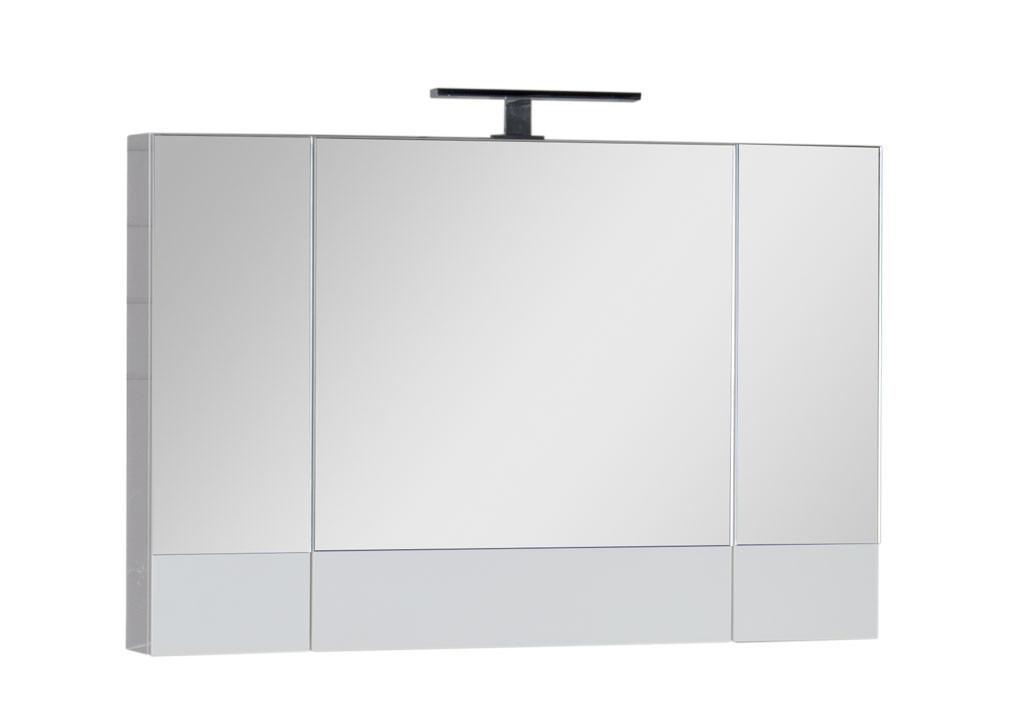 Зеркало Aquanet Нота 100 белыйЗеркало- шкаф для ванной<br><br><br>Длина мм: 0<br>Высота мм: 0<br>Глубина мм: 0<br>Цвет: Белый Глянец